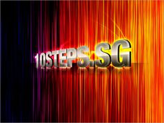 Creating Colorful Disco Lines Effect   10Steps.SG