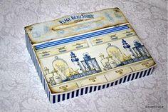 Krabičky - Bord de meer-sekretárik - 1870955