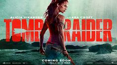 Actress Alicia Vikander steps into Angelina Jolie's shoes to play Lara Croft 15 years after Jolie's last Tomb Raider movie, Lara Croft. Tomb Raider Full Movie, Tomb Raider Film, Tomb Raider Novo, Tomb Raider 2018, Hollywood Movies Online, Hollywood Scenes, Tomb Raider Alicia Vikander, Critique Cinema, Dominic West