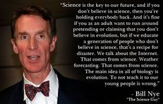 Thanks again, Bill Nye.
