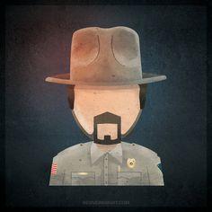 Chief Hopper. by ReviverKnight.deviantart.com on @DeviantArt
