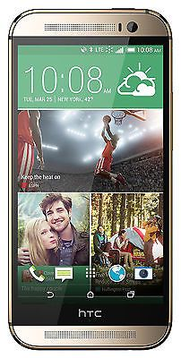 HTC One M8 32GB Sprint + Unlocked GSM LTE OctaCore Android Dual 4MP Phone Silver