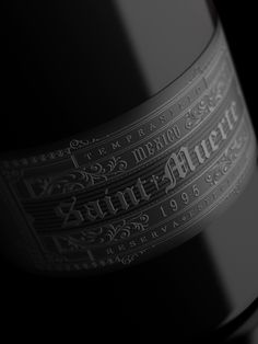 Saint Muerte Wine via @Matt Valk Chuah Dieline