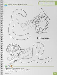 Trazos y Letras Nº1 Symbols, Letters, Album, Emilio, Joseph, Facebook, Texts, Home Preschool, Preschool Learning Activities