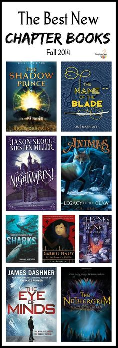 good gift ideas --> the best new chapter books, fall 2014