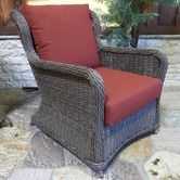 Found it at Wayfair - Palma Resin Wicker Conversation Chair with Cushions