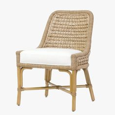 Capitola Rattan Side Chair