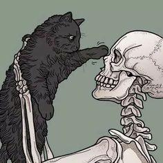 Skeleton Drawings, Skeleton Art, Art Drawings, Art And Illustration, Skull Wallpaper, Halloween Wallpaper Iphone, Fantasy Kunst, Fantasy Art, Skull Art