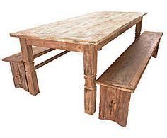 Mesa com bancos telurio - energy
