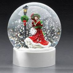 Royal Doulton® Christmas Day Snow Globe 'Christmas Night'