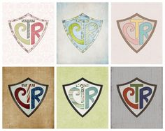 CTR Shield Prints  Today's freebie for Merry Monday is a set of 8×10 CTR Shield Prints.