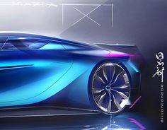 """Check out new work on my @Behance portfolio: """"non official mazda RX7 concept"""" http://be.net/gallery/47478071/non-official-mazda-RX7-concept"""