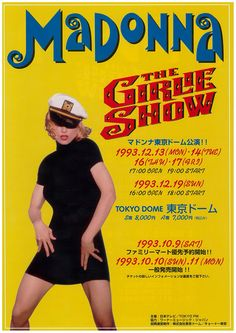 MADONNA THE GIRLIE SHOW