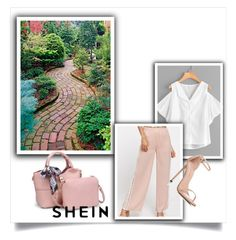 """Shein6"" by gold-phoenix ❤ liked on Polyvore featuring Stuart Weitzman"