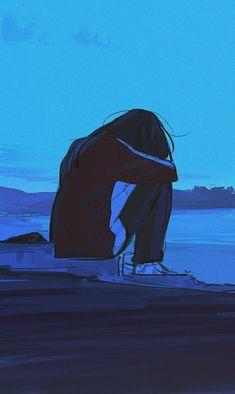 Anime Girl Crying, Sad Anime Girl, Anime Art Girl, Anime Love, Anime Guys, Anime Manga, Anime Girl Triste, Art Anime Fille, Sad Wallpaper