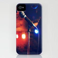 Microphone iPhone case $35
