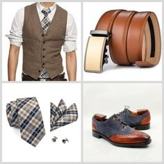 Run your Elegance 365 days a year! Elegance is a mindset Smart Casual brown and grey Outfit - Jeans - Runit365 your Elegant Men Store #belt #shoes #CreateYourStyle #runit365 #fashionaddict