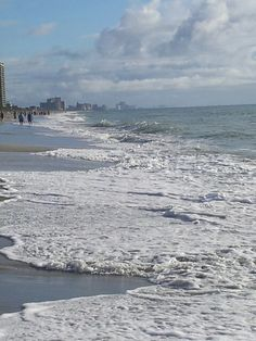 Myrtle Beach, SC Here's another beautiful beach on the Atlantic Coast.