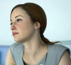 Andrea Riseborough as Victoria in Oblivion.
