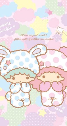 #ICanPinARainbow #Little Twin Stars