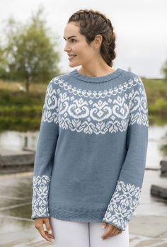 Nordic Sweater, Fair Isle Knitting, Knitting Charts, Fair Isles, My Outfit, Knit Crochet, Sweaters For Women, Fashion Outfits, Stylish