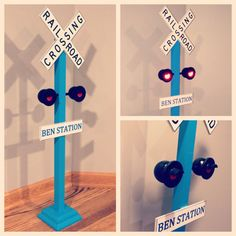 Personalized Railroad Crossing Train Sign  Train by CAMRYNJOLEE, $49.00