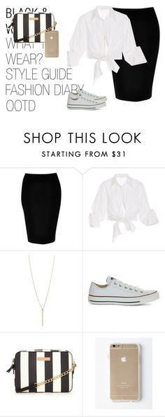 """Sem título #146"" by hellenfmartins ❤ liked on Polyvore featuring River Island, Johanna Ortiz and Converse"