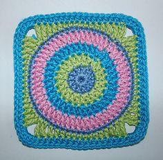 Crochet-Granny Square Spots