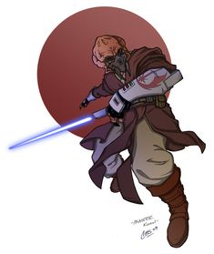 Plo Koon Color by CBS-Ink on DeviantArt