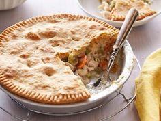 Homemade Chicken Pot Pie from CookingChannelTV.com - Kelsey Nixon