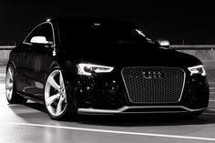 Ideas Audi Cars Black Beauty For 2019 Audi A5 Coupe, Bmw M4, Sexy Cars, Hot Cars, G Wagon, Maserati, Panther Car, Allroad Audi, Ford Mustang