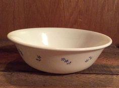 Corelle Corning Ware Provincial Blue Flower Cereal Fruit Bowl Microwaveable USA    eBay