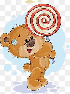 Easter Bunny Template, Bunny Templates, Teddy Bear Cartoon, Cartoon Elephant, Teddy Drawing, Baby Illustration, Cartoon Profile Pics, Cute Clipart, Tatty Teddy