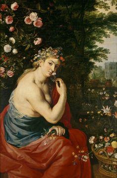 Peter Paul Rubens. The Goddess Flora, 1625.