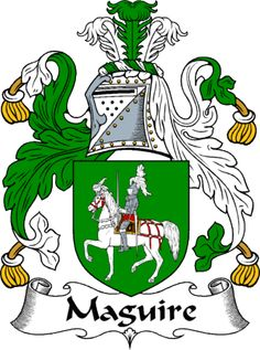 maguire irish crest   maguire clan coat of arms maguire clan news and events