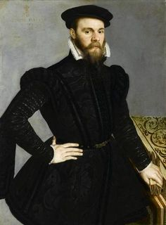 Anvers, (Martin de Vos ?) Portrait of a man aged 33 years, dated 1565