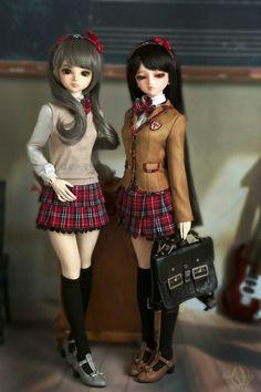 Anime style dolls