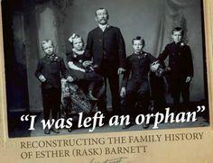 Follow the link to read her story: http://billfarley.net/swedish-orphans/