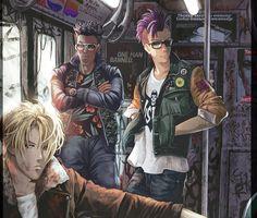 Manga Anime, Fanarts Anime, Anime Guys, Anime Characters, Anime Art, Eren E Levi, Banana Art, Oui Oui, Fish Art