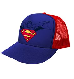 """Gorra Superman Con Logo "" disponible en www.kingmonster.com.mx"