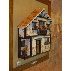 balcones antioqueños miñiatura - Buscar con Google #falsoacabadomarmol Vitrine Miniature, Miniature Rooms, Miniature Houses, Halloween Crafts For Kids, Fun Crafts, Driftwood Art, Stone Houses, Model Homes, Little Houses