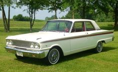1963 FORD FAIRLANE 500 - 2 DOOR SEDAN
