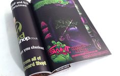 Scoot-Mag Issue 10: Mischief Ghoul Advert