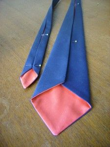 How to sew your own neck tie