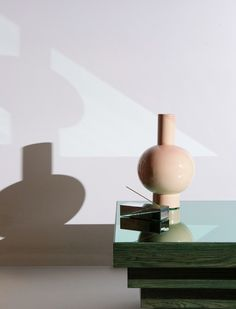 Vase & incense holder by Daniel Emma