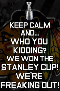 For Blackhawks!!!!