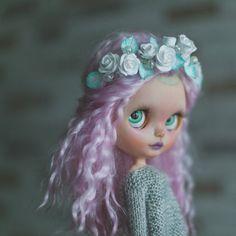 AuraOoak custom art trancelucent Blythe doll by BlythemagicShop