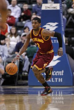 Kyrie Irving - Rookie of the year - 2012 Cavaliers Pacers Basketball