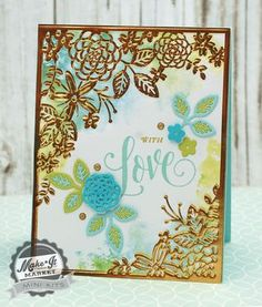With Love Card by Betsy Veldman for Papertrey Ink (May 2015)