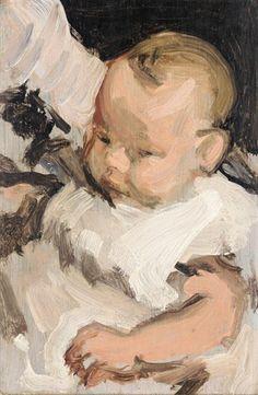 Samuel John Peploe, PORTRAIT OF A BABY